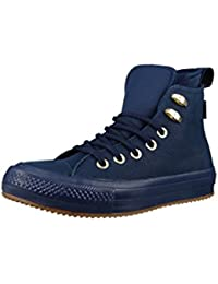 Converse Chucks Blu Pelle 558820c Chuck Taylor All Star WP BOOT HI TG 37