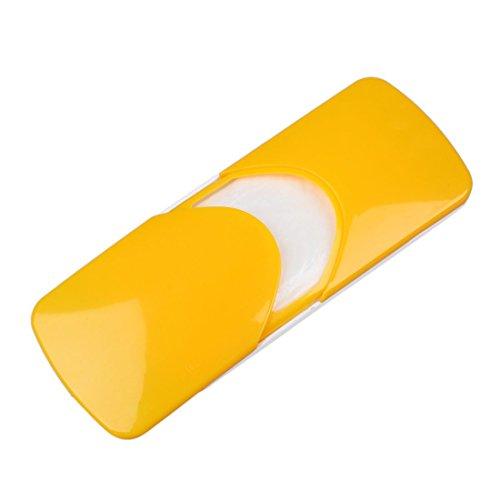 Preisvergleich Produktbild Papierserviette Box - TOOGOO(R)Auto Zubehoer Auto Sonnenblende Auto Papiertaschentuch Box Deckelhalter Papierserviette Box (orange)