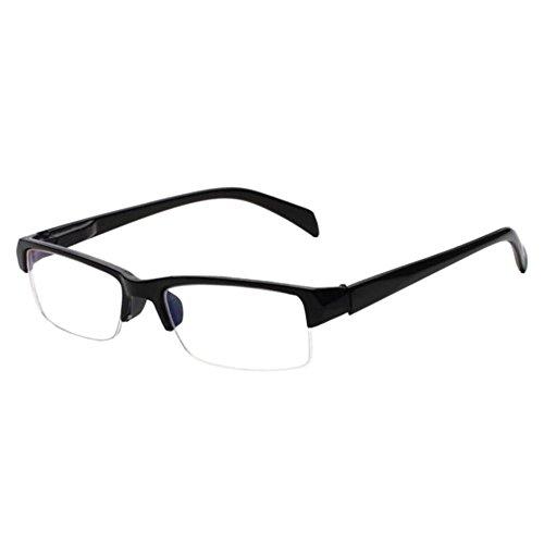Xinvision Unisex Kurzsichtig Gläser,Anti-Strahlung Jahrgang Hälfte Felge Kurzsicht Brillen Kurzsichtigkeit Myopia Brille -1.0~-6.0 (Diese sind nicht Lesen Brille)