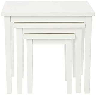 Julian Bowen CLEO NEST OF TABLES - PURE WHITE FINISH (B079ZVZBPH) | Amazon price tracker / tracking, Amazon price history charts, Amazon price watches, Amazon price drop alerts