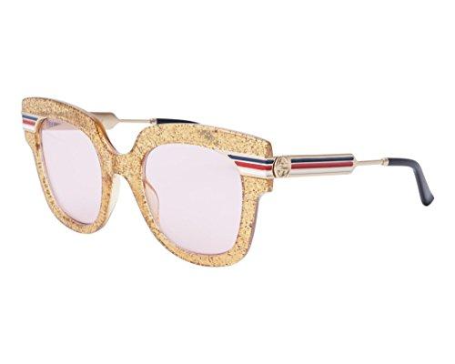Sonnenbrillen Gucci GG0281S GOLD/PINK Damenbrillen