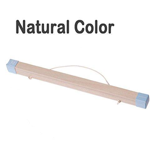 lieomo magnetisch Eiche Holz Poster Rahmen Kleiderbügel-Artwork Print Halterung Leinwand Quilt aus Holz Aufhängen (Natürliche Farbe) (Quilt-rahmen)
