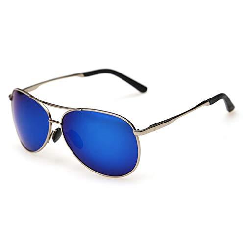 YIWU Brillen The New Driving Driver Spiegel Farbfilm Männer Sonnenbrille Hipster Spiegel Polarisator Weiblich Fahrspiegel Brillen & Zubehör (Color : 2)