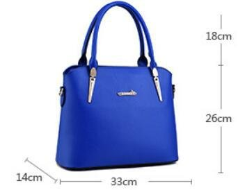 HQYSS Borse donna Atmosfera di europei e americani di moda gli stereotipi femminili tracolla Messenger Handbag , treasure blue days blue