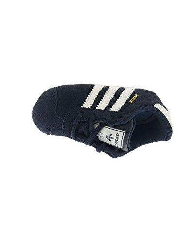 adidas Unisex Baby Gazelle Crib Sneakers Blau