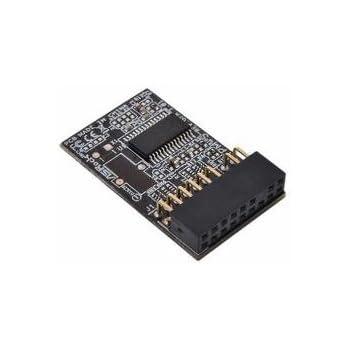 Asus TPM-M R2 0 Hardware Security Chip - Metallic: Amazon co