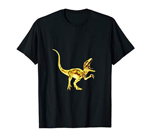 Velociraptor T-Shirt Dinosaurier Raptor Angriff Dino Museum -