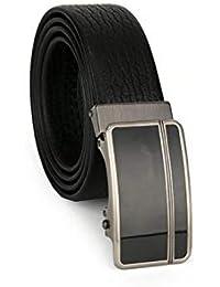 Laisla fashion Cinturón De Hebilla Automático Para Hombres De Moda Cinturón  Clásico De Hombre Pantalones Para Jóvenes Cinturón De… b1e3a59d05a8