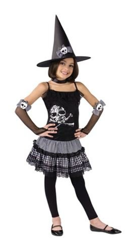 Funky Kostüm Halloween Hexe 4-6 - Funky Hexe Kostüm