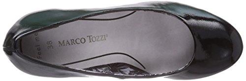 Marco Tozzi22429 - Scarpe con Tacco Donna Nero (Nero (Black / 1))