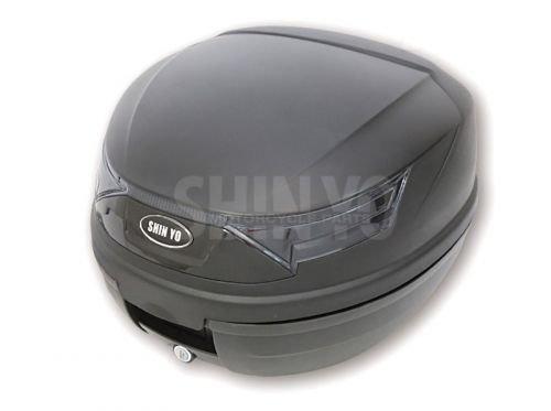Roller Topcase RIMINI, 32 Liter für 1 Helm schwarz