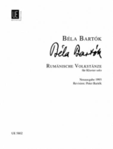 Rumänische Volkstänze, für Klavier (Sheet Bartok Music Piano)