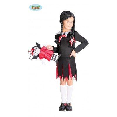 Guirca Disney Liceale Gotica, Color, 5-6 Jahre 82593 (Disfraces De Halloween Gotica)