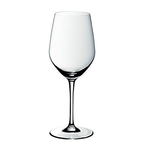 WMF easy Plus Rotwein Weinglas, 450ml, Kristallglas, spülmaschinenfest, transparent