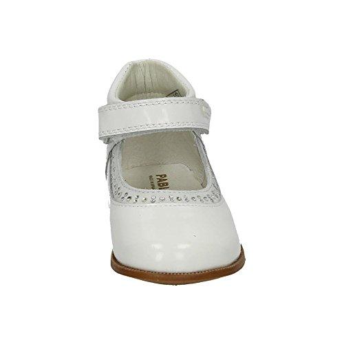 Pablosky Mädchen Ballerinas Weiß