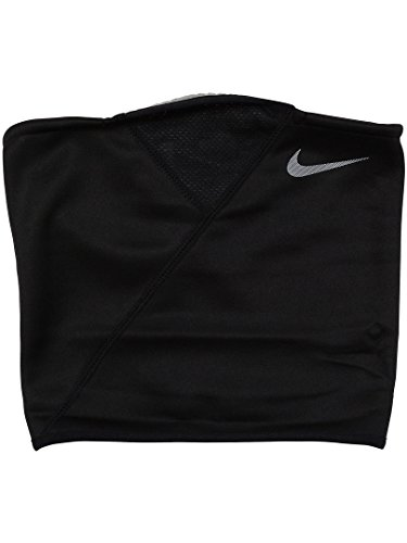 Nike Erwachsene Therma Sphere Adjustable Neck Warmer 063 Nackenwärmer, Black/Tumbled Grey/Me, One Size