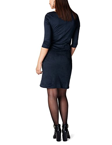 Noppies Damen Umstandskleid Blau (Dark Blue C165)