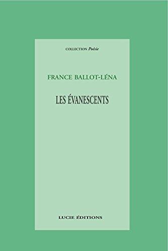 Lire en ligne Les évanescents pdf, epub ebook