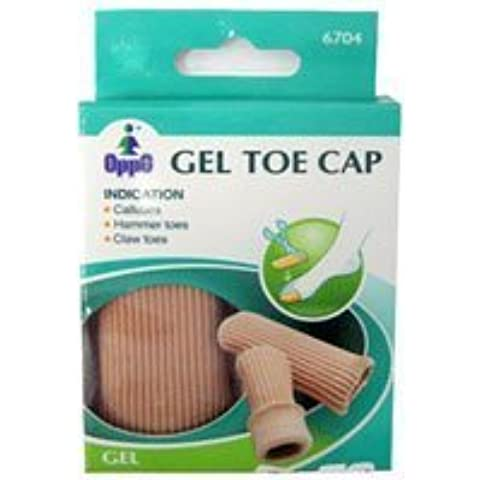 Oppo Gel Toe and Finger Cap, Size : Small, Model No : 6704 - 2 / Pack by Oppo