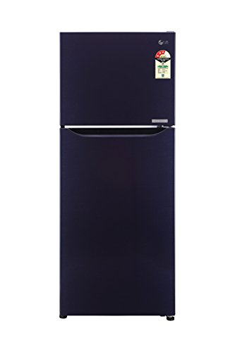 LG 260 L 3 Star Frost Free Double Door Refrigerator(GL-C292SCPU.DCPZEBN, Dark Purple, Inverter Compressor)