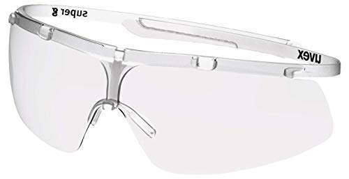 Uvex Super G Schutzbrille - Supravision Plus - Transparent/Weiß