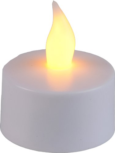 Best Season 066-18 - Juego de lámparas LED con forma de velas pequeñas, 6 piezas, flameantes
