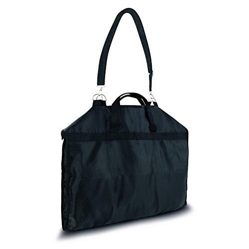 Anzugtasche/Kleidertasche 108 x 57 cm - Schultergurt & Tragegriffe & Staufach - Wasserdicht Atmungsaktiv Faltbar - Kleidersack Handgepäck Business Reisen (Anzugtasche/Kleidertasche)