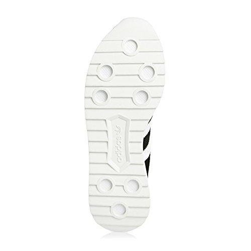 adidas Flashback, Sneaker Bas du Cou Femme, Noir, 38 EU Noir (Core Black/ftwr White/core Black)
