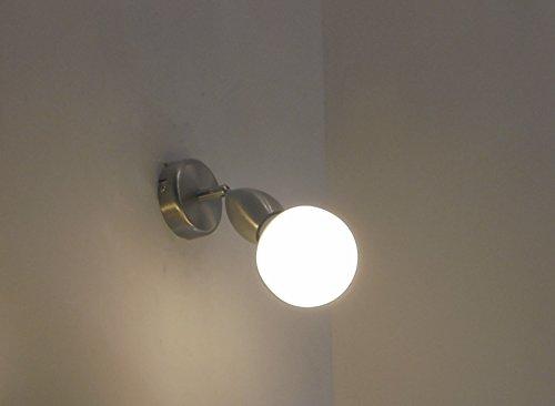 Applique lampada parete moderna spot faretto e bagno specchio