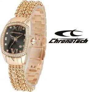 Reloj Chronotech Gold Rose Joya Mujer
