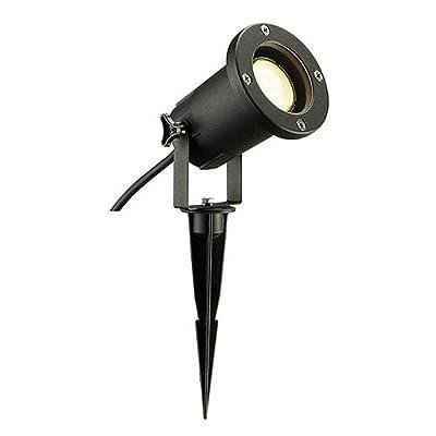 Außenstrahler NAUTILUS SPIKE XL, schwarz EEK: B - A++ von SLV auf Lampenhans.de
