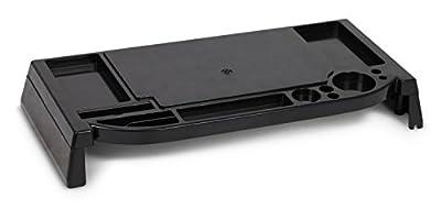 Lavolta Storage Space Monitor Stand Riser Elevated Platform Shelf for Apple iMac - Black - inexpensive UK light shop.