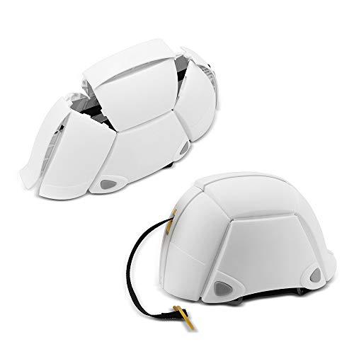 Renogy Faltbarer Fahrradhelm einstellbar 500g tragbarer Schutzhelm für Motorrad Fahrrad Radfahren Reiten Notfall Einsatz Erdbeben Helm für Mann Frau