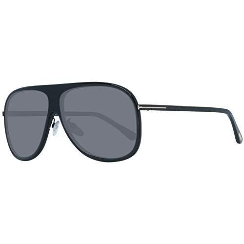Tom Ford Herren FT0462-F 01D 62 Sonnenbrille, Schwarz,