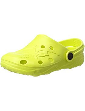 BECO Kinderclogs / Badeschuhe Schildi lemon 32