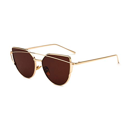 OULN1Y Sport Sonnenbrillen,Vintage Sonnenbrillen,Sunglasses Women Retro Oversize Sunglasses Female Mirrored Sunglasses