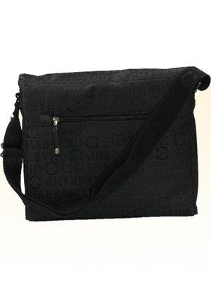 Chabrand - Besace en nylon et cuir ref_cha25612-noir