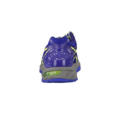 ASICS Gel-fujitrabuco 4 - Scarpe Running Donna, Rosa (azalea/turquoise/black 2140), 42 EU Slate Blue/Sharp Green/Carbon