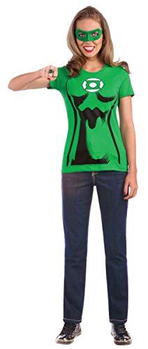 Green Lantern Kostüm-Set für Frauen - XL