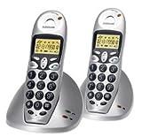 Audioline DECT 8048 Bundle Multilink-Kombiset aus DECT 8048 und DECT 8048-1