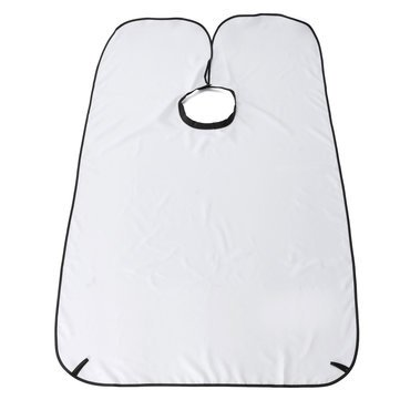 Generic Shave Cape Hair Beard Trimming Catcher-White