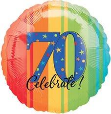 Anagram internacional años a la perfección Un Año Para Celebrar 70globo, 17', multicolor