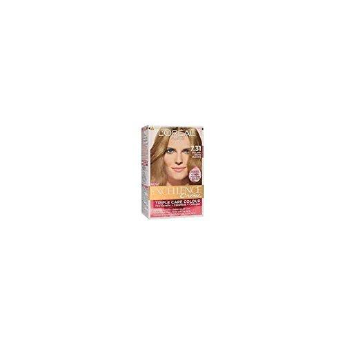 L\'OREAL - Coloration - EXCELLENCE crème - Tout les Blonds - 7.31 Rubio caramelo - Blond Caramel