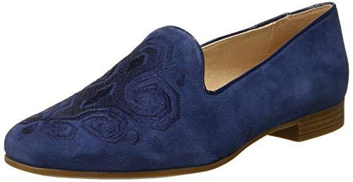 Geox D Marlyna B, Mocassini Donna, Blu (Blue C4000), 39.5 EU