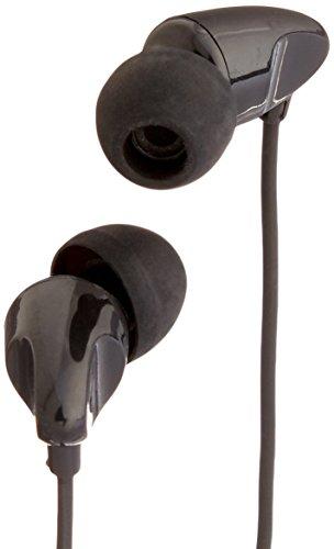 AmazonBasics In-Ear Headphones with universal mic (Black)
