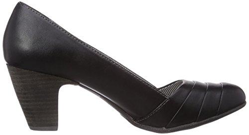 s.Oliver - 22412, Scarpe con Tacco Donna Nero (Nero (Black 001))