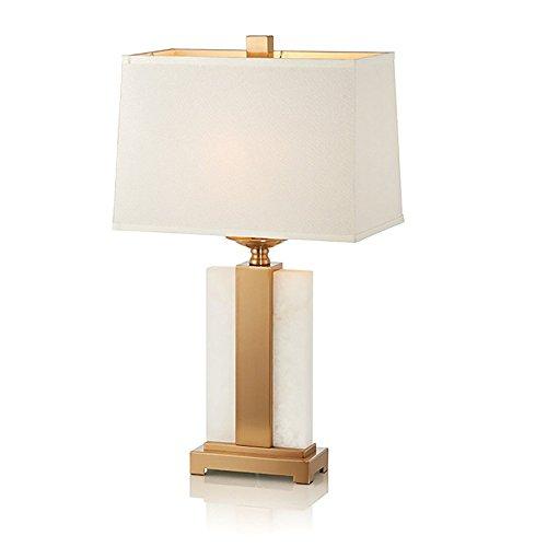 Personalizzato in marmo elegante lampada semplice e lussuoso in metallo art home decor living room bedroom hotel