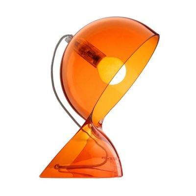 Dalù Tischleuchte orange-transparent von Artemide GmbH bei Lampenhans.de