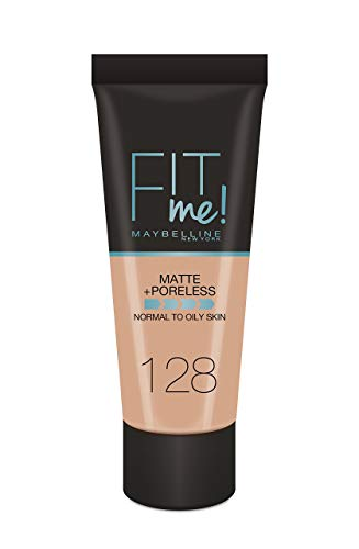 Maybelline New York Fond de teint Fit Me Matte & Poreless 128 Beige Doré