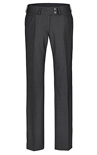 GREIFF Damen-Hose Anzug-Hose PREMIUM regular fit - Style 1352 - grau - Größe: 42 (Grau Hosen-anzug Damen)